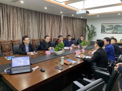 团县委赴上海招商引资 动员在外人才返乡兴业